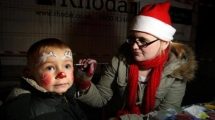 Christmas Face Painter Perth